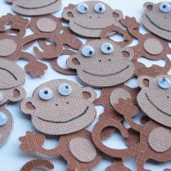 10 Monkeys Die Cut